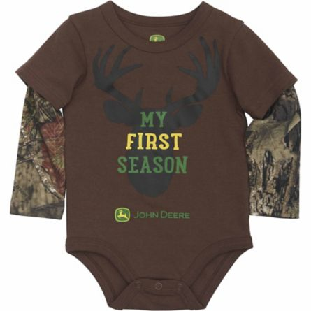 43b09a9feab Camouflage John Deer Baby Clothes - Only  4.99 at Tractor Supply ...