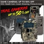 Up to 50% Off Trail Cameras at Field Supply -Ends 5/16/18