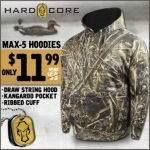 Bone Collector and Hard Core Hoodies only $11.99 at Field Supply – Ends 6/16/18
