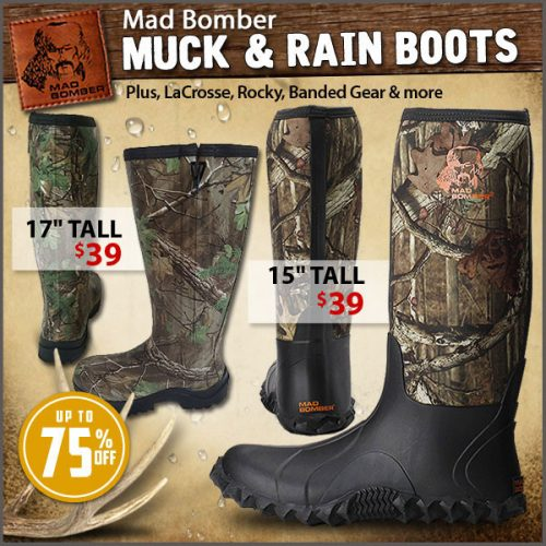 837a49fb3a2 Mad Bomber Boots ($39) plus up to 75% LaCrosse, Rocky, Danner ...