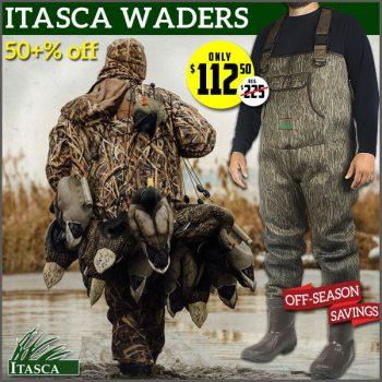 fishing waders deal