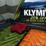 Klymit Flash Sale ( 20% Off at Checkout ) at Black Ovis – Ends 7/21/.18