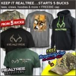Realtree Casual Wear Sale at Field Supply – Ends 7/18