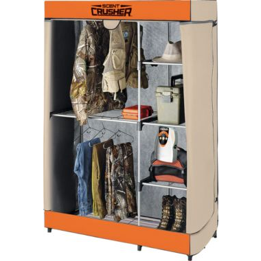 dc26dbd545358 Amazon has a great deal on the Scent Crusher Flexible Closet. Ozone  generation is arguably the biggest innovation in the hunting industry since  digital ...