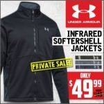 Under Armour Storm ColdGear Infrared Softershell Jacket at Wing Supply – Ends 12/11 at 7:00 AM