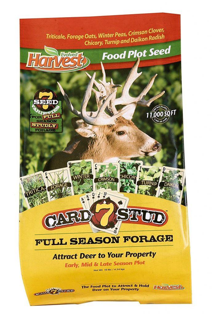 fall food plot blend deer hunting sale