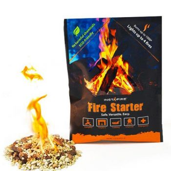 Instant fire starter kit