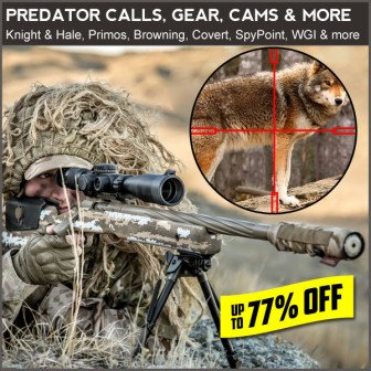 best deal on coyote hunting gear