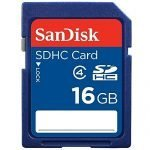 2 Pack of Sandisk 16 GB SDHC Class 4 Memory Cards- Amazon Deal