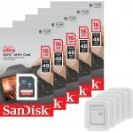 5x Sandisk Ultra 16GB SDHC Class 10 Memory Cards – Amazon Deal