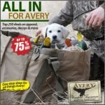 Avery Waterfowl Sale at Wing Supply – 250+ Itmes – Ends 7AM 11/10