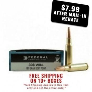 best deal on 308 ammo federal