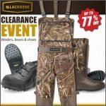 LaCrosse Waders and Boots on Sale at Wing Supply – Ends 12/5 at 7:00 AM