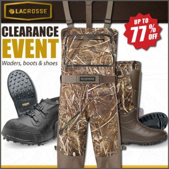 Lacrosse Alpha Burly Boot Sale