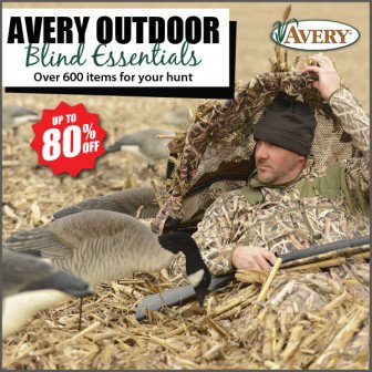 avery duck hunting gear