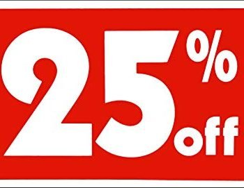 25% off dick's sporting goods