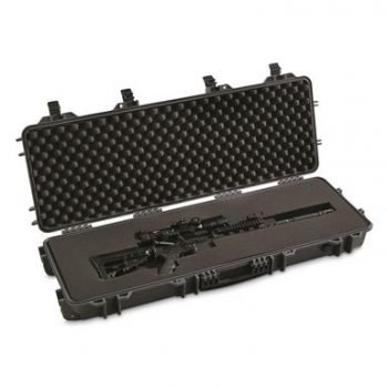 best deal hard rifle case cheap