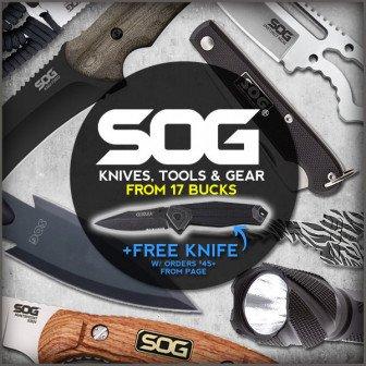 best deal SOG knives