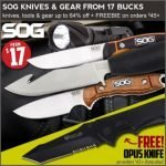 SOG Knife Sale at Field Supply – Ends 12/2