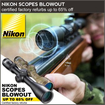 huge discounts on refurbished scopes