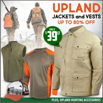 bird hunting apparel deal