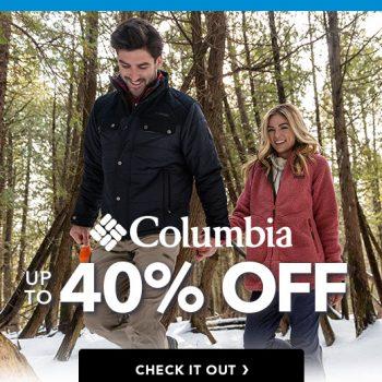 columbia clothing sale