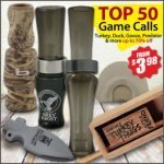Duck, Goose & Turkey Calls on Sale at Wing Supply – Ends 1/12