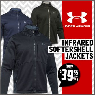 Under Armour Storm Coldgear Infrared Softershell Jacket At Field