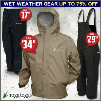best fishing rain gear deal
