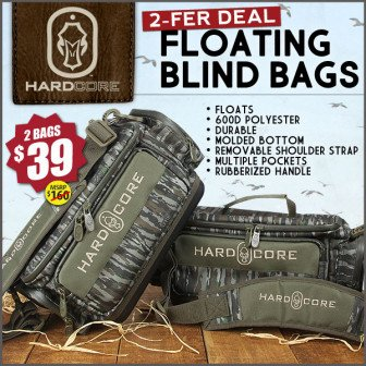 waterfowll hunting boat bag
