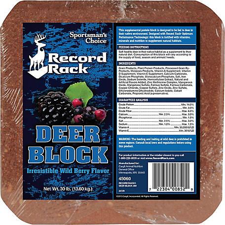 deer protein block deal