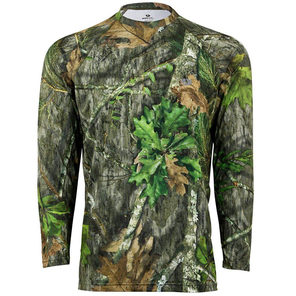 07569fdb83bda Mossy Oak Performance Long Sleeve Shirts- Men, Women, & Youth- Amazon Low  Price - Hunting Gear Deals