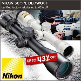best deal nikon riflescope