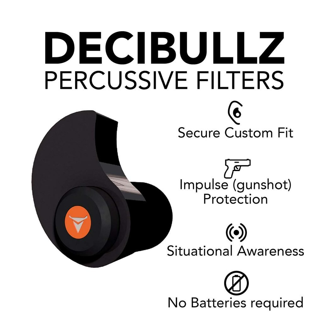 decibullz percussive filters for shooting