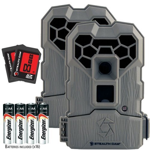 2-pack trail camera bundle
