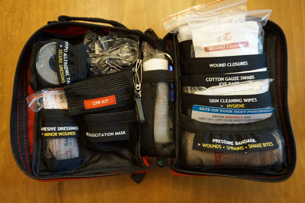 backcountry emergency kit