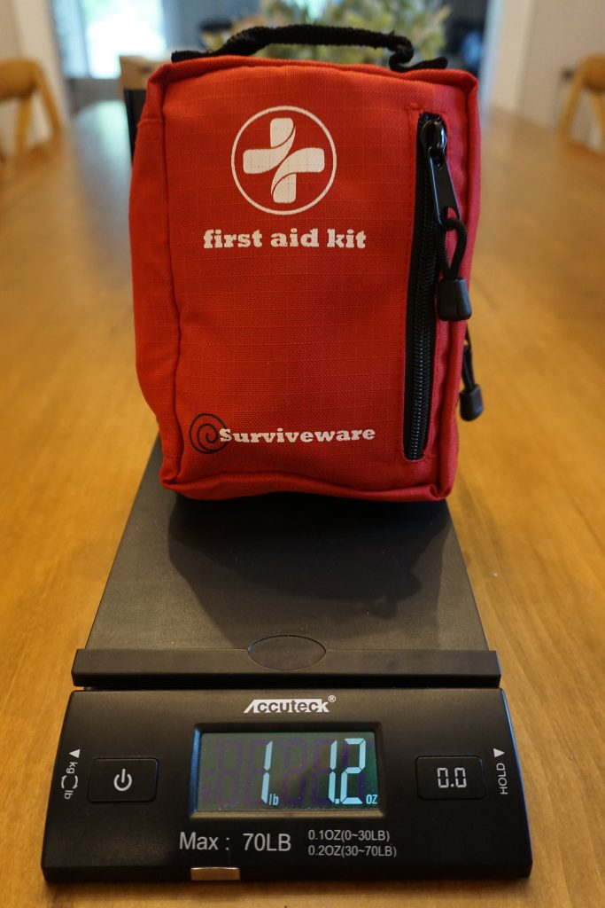 compact first aid kit for backpacking