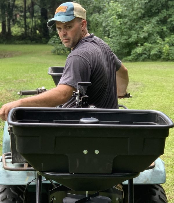 guide gear atv spreader review