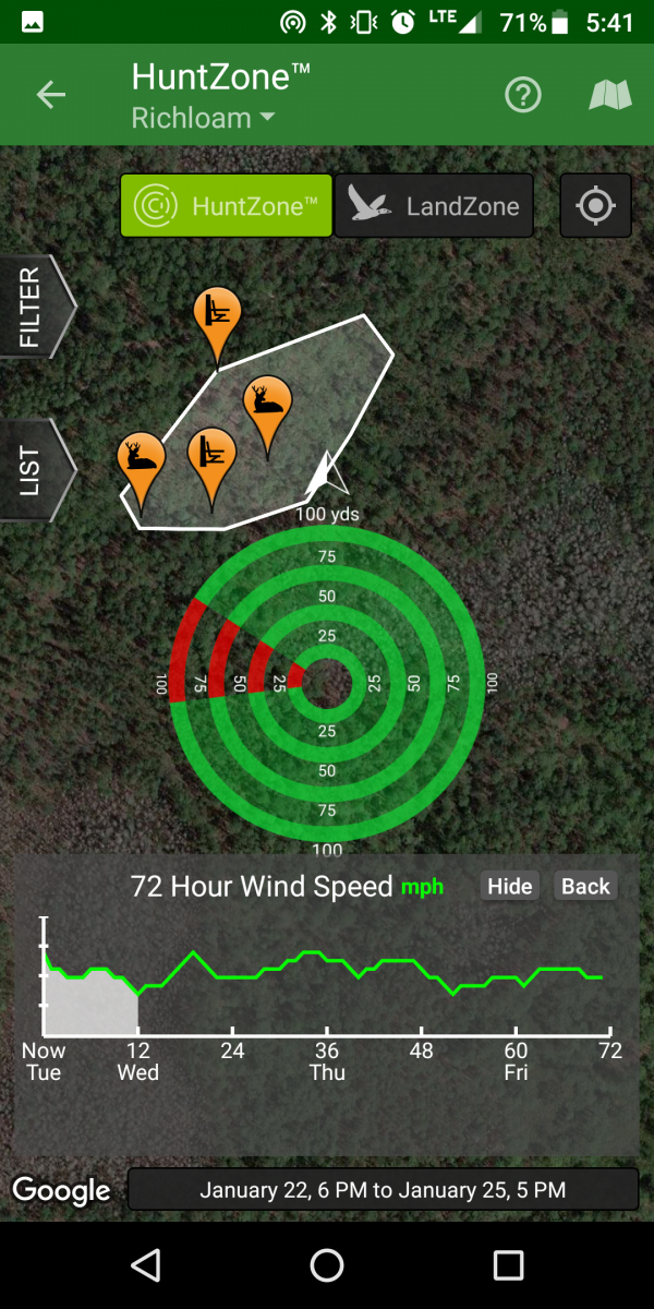 best weather app for hunting