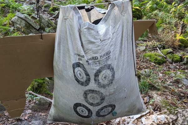 third hand archery rag bag