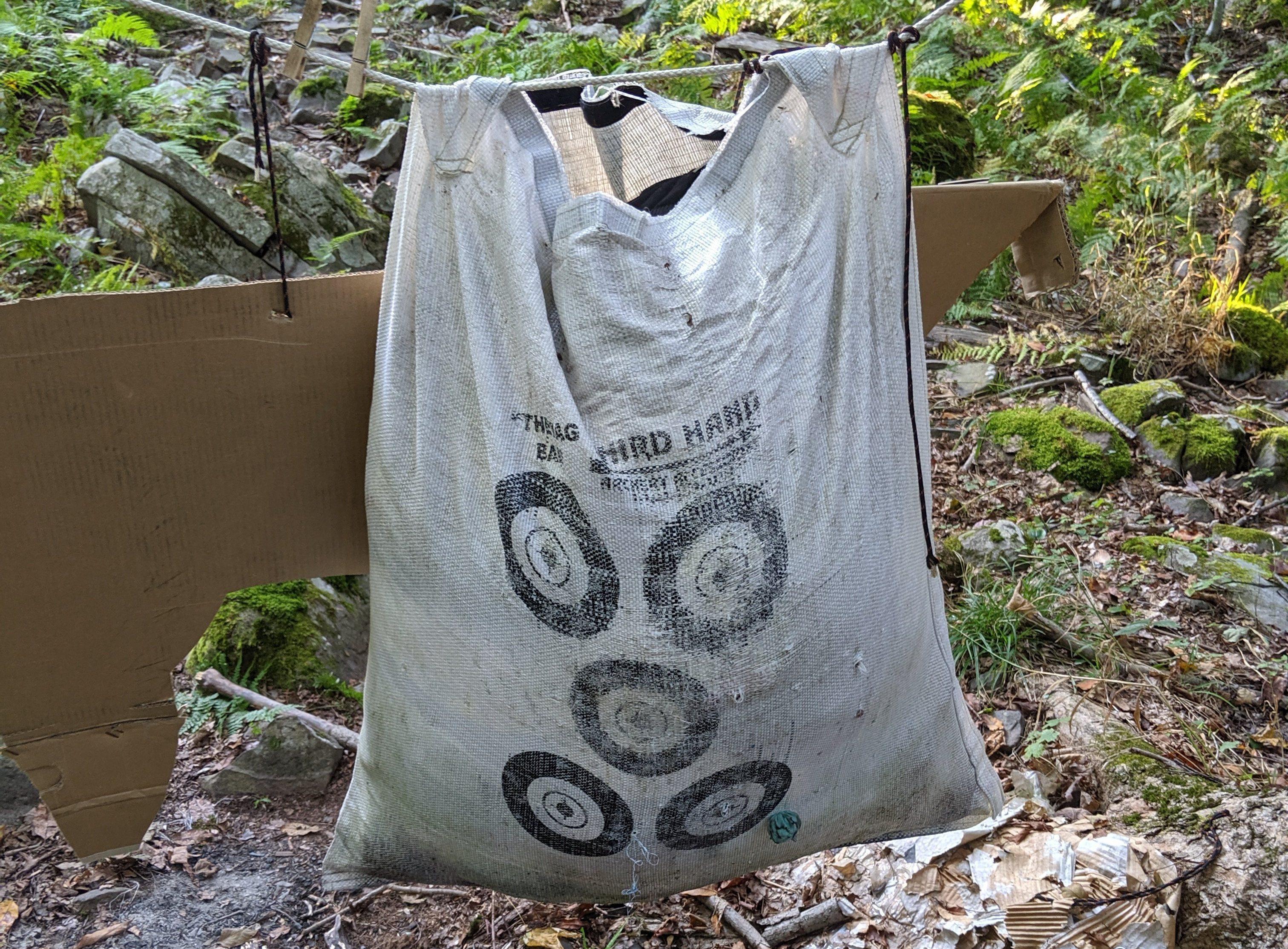 third hand archery rag bag