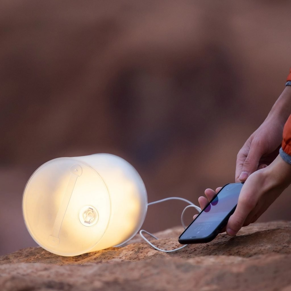portable light and charger for hiking