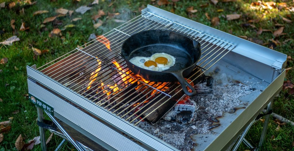 fireside outdoors pop-up fire pit review