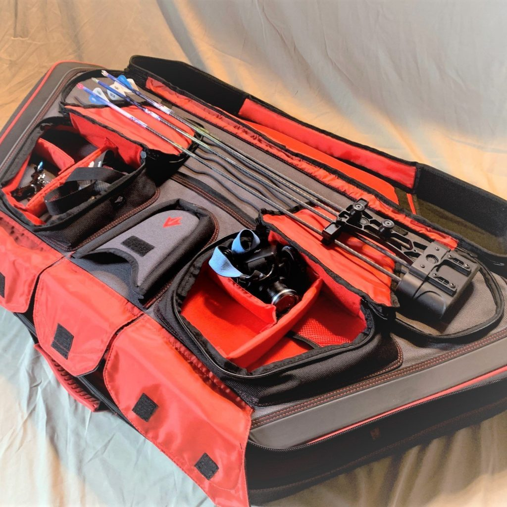 inside of gear fit edge bow case