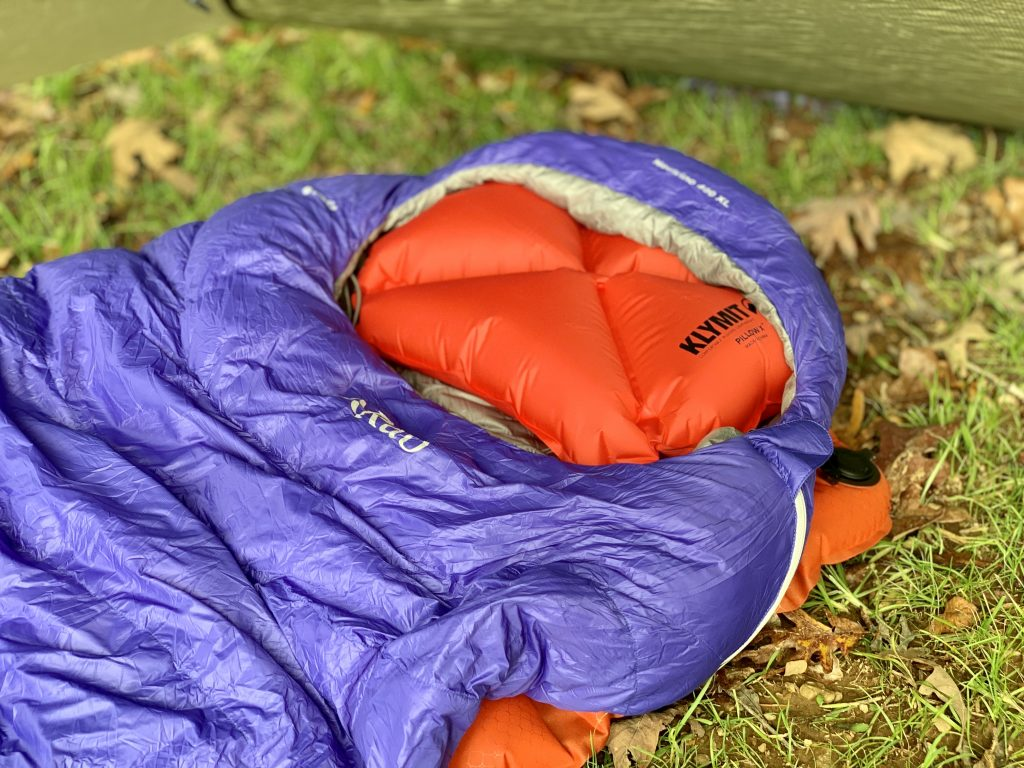 inflatable backpacking pillow review