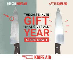 knife sharpening deal