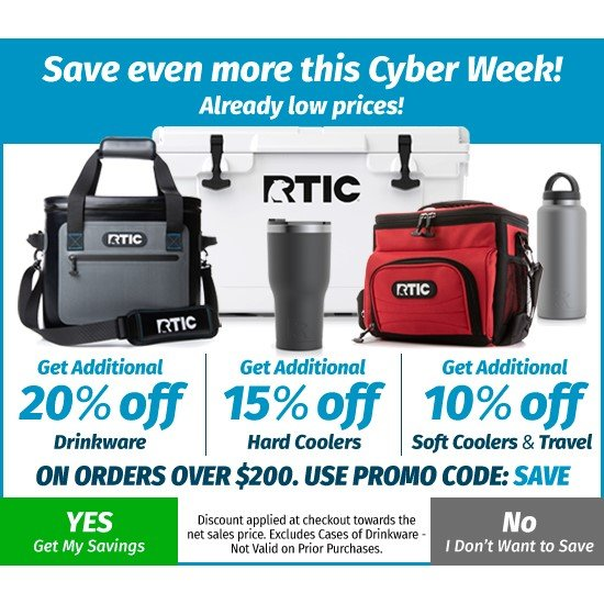 rtic coolers discount deals
