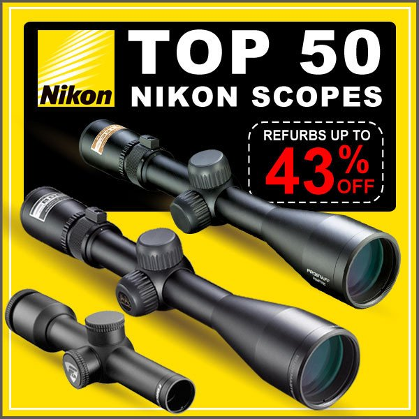 best deal nikon scope
