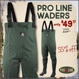 best deal trout fishing waders