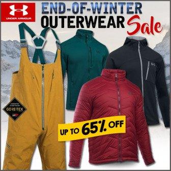 under armour winter sale